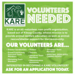 Learn More about becoming a KARE Volunteer